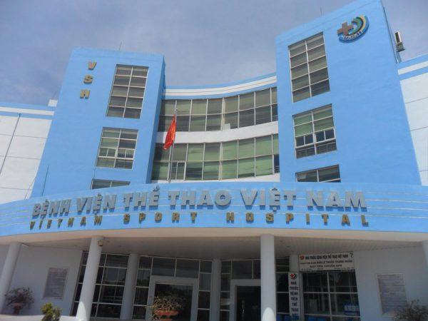 Giới thiệu tổng quan về bệnh viện thể thao Việt Nam