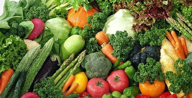 Không thể không ăn rau quả khi bị đau lưng