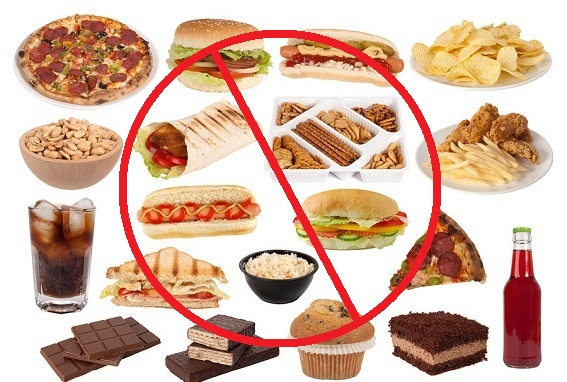Những thực phẩm cần tránh