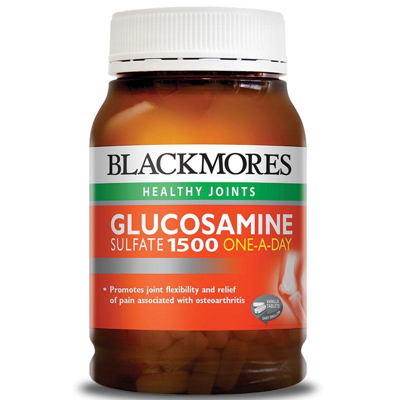 Thuốc bổ xương khớp tốt nhất đến từ Úc:Blackmores glucosamine 1500mg