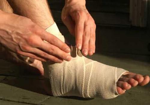 Nguyên nhân gây trật sơ mi cổ chân