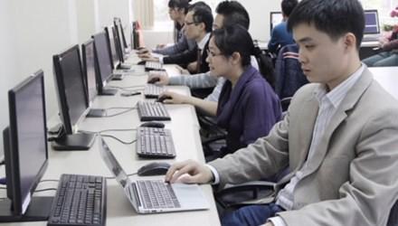 Nhóm nghiên cứu công nghệ tin - sinh học của PGS.TS Lê Sỹ Vinh.