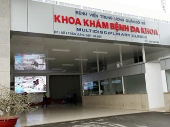 Quy trình khám bệnh tại viện 108