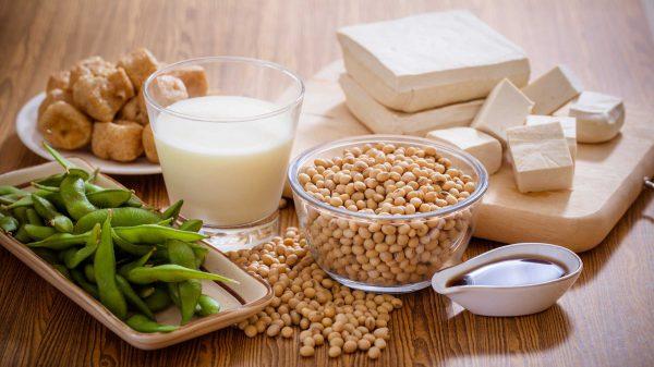 Giá đỗ, sữa đậu nành