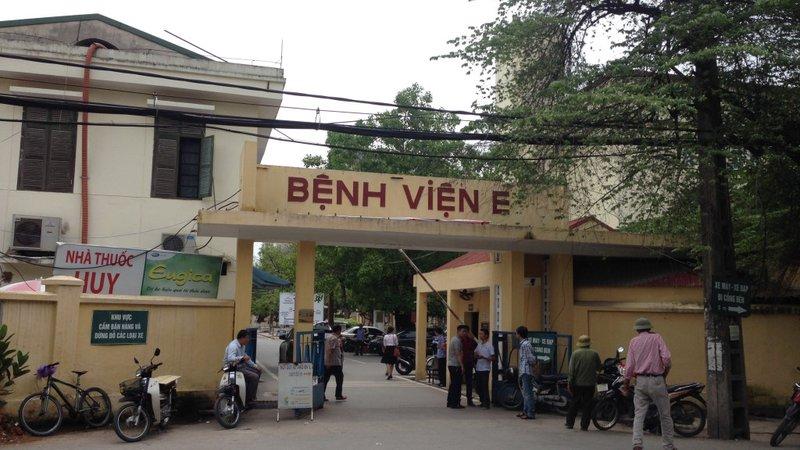 Bệnh viện E Hà Nội chuyên về xương khớp