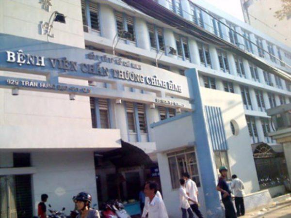 Bệnh viện xương khớp, chấn thương chỉnh hình Tp Hồ Chí Minh