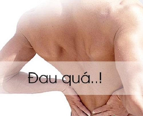 Hiện tượng đau thắt lưng gây những khó chịu nhất định