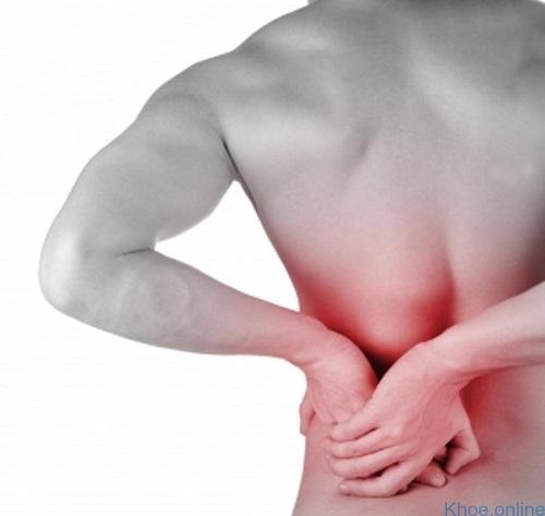 đau lưng phía dưới bên trái
