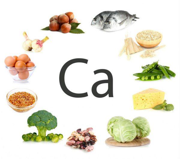 Các loại thực phẩm chứa nhiều canxi