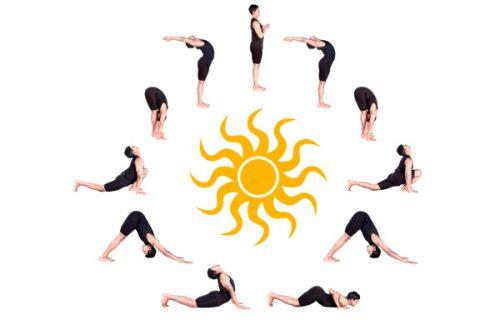 yoga trị liệu đau cổ vai gáy tư thế mặt trời